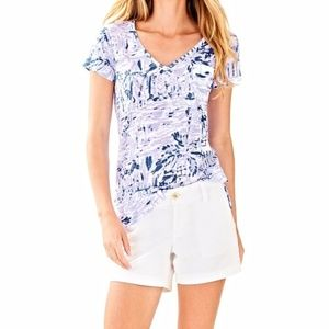 Lilly Pulitzer Etta Top in Rock the Dock